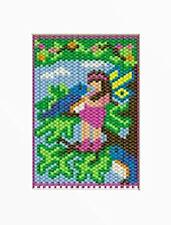 Friendship Fairy And Bird Beaded Banner Pattern