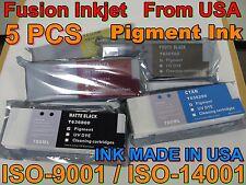 5 Cartridge fits ink Epson Stylus Pro 7700 9700 7900 9900 7890 9890 not oem i