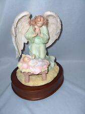 Seraphim Angel Francesca Loving Guardian San Francisco Music Box Roman Nice