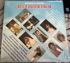 BELLA QUESTA ITALIA CELENTANO FOGLI PILATO BERTE' MANNOIA MORI TOGNI GIACOBBE LP
