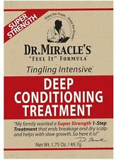 Dr. Miracle's Feel It Deep Conditioning Treatment, Super 1.75 oz (4 pack)