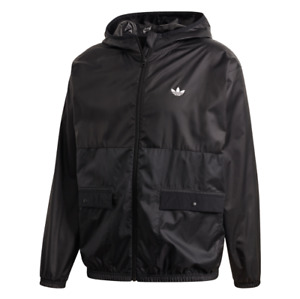 Adidas Black Lightweight Windbreaker