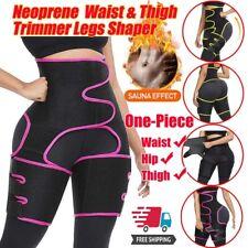 High Waist Thigh Trimmer Body Shaper Butt Lifter Leg Slimmer Sauna Sweat Trainer