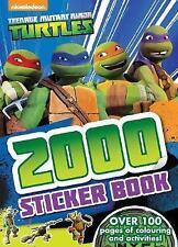 Nickelodeon Teenage Mutant Ninja Turtles 2000 Sticker Book by Parragon Books Ltd (Paperback, 2016)
