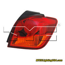 TYC Right Outer Side Tail Light Assembly for Mitsubishi Outlander Sport 11-15