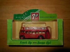 1995 7-up soda  diecast bus