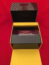 ORIGINAL BREITLING BLACK PRESENTATION WATCH BOX (BAKELITE) BEAUTIFUL CONDITION!!