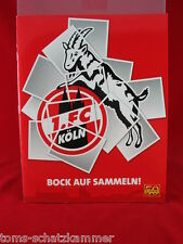 Panini 1. FC Köln Album Leeralbum Bock auf sammeln