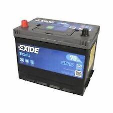 Batería EXIDE Excell EB705 12V 70Ah 540A Compatible VARTA E24 TUDOR TB705
