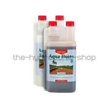 CANNA Aqua Flores 1 Litre 1l a B Flower Bloom Plant Nutrients Hydroponics