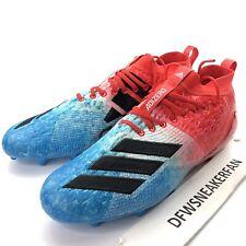Adidas Adizero 8.0 Men's 12.5 Football Cleats Red/White/Blue USA F35080 New