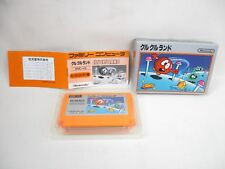 Clu Land GOOD Condition Famicom NINTENDO fc
