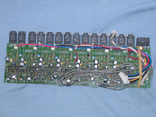 Seven (7) Sk Sap17 6224 & 6214 Matched Pairs Power Transisters and Pcb