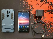 Nokia 8 Sirocco 128GB Black Factory Unlocked! Android ONE 10