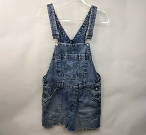Vintage Disney Women's Overalls Overall Shorts Shortalls Denim Size S Has flaws