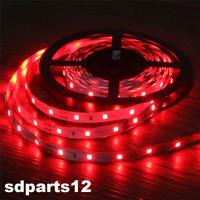 12V 5M TUNING Bande Flexible Lumineuse ROUGE 5050 SMD LED ETANCHE pour AUTO, VAN
