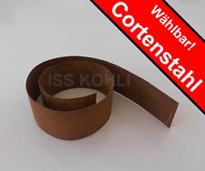 Rasenkanten Meterware Cortenstahl rost rostig 15 20 25 cm  Beeteinfassung Rolle
