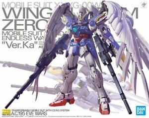 MG 1/100 Endless Waltz Wing Gundam Zero EW Ver. Ka Wing Zero Custom Model Kit
