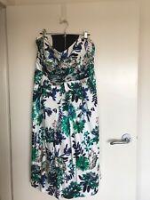 PORTMANS strapless cotton dress size 16