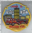 Boston Fire Department (Massachusetts) Ladder 15 Shoulder Patch
