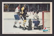 1971-72 NHLPA PRO STAR PROMOTIONS HOCKEY  PHOTO  DRYDEN-HODGE-LAPERRIERE  A3266
