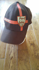 AWESOME UNUSUAL VINTAGE HOOTERS CAP HAT BROWN AND ORANGE ALCOA, TN OWL ON PATCH