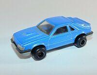 Majorette vintage Mustang SVO No 220 1/59 Blue Diecast Model Car
