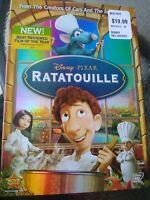 RATATOUILLE DVD 2007 With Slipcover  Disney Pixar NEW! SEALED!