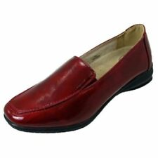 Chaussures plates et ballerines vernies rouge pour femme