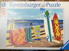 "Ravensburger Puzzle 500 Piece  Soft Click Technology ""Hang Loose"""