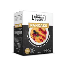 BioTechUSA Protein Gusto Pancake 480g Vanille MHD