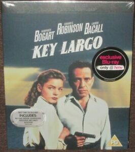 KEY LARGO HMV Premium Collection Blu-Ray VGC Humphrey Bogart Lauren Bacall Noir