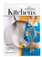 Fox Run  Kitchens  Egg Fry Ring  Stainless Steel  Silver