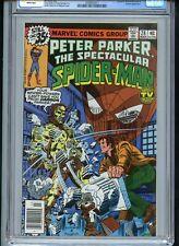 Spectacular Spiderman #28 CGC 9.8 White 2nd Miller Daredevil