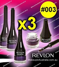 CHEAP 3x Revlon ColorStay Creme Gel Eyeliner, Plum 003 - OMG -