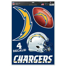 NFL SAN DIEGO CHARGERS DECAL WALL OR WINDOW REMOVABLE ANY SURFACE LIKE FATHEAD