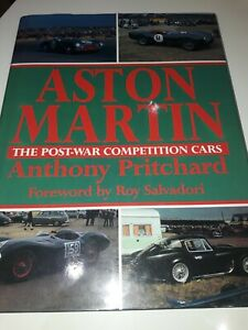 ASTON MARTIN - THE POST WAR COMPETITION CARS HISTORY BOOK ANTHONY PRITCHARD