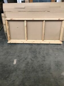 Brand New Unused Supplied Double  Glazed Timber Window 1765mmx745mm unfinished