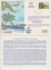 FC152 RAF FLOWN COVER ESCAPING SOCIETY PAPUA NEW GUINEA ESCAPE FROM NEW BRITAIN