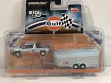 2017 Chevrolet Silverado with Aerovault Gulf 1:64 Scale Greenlight 51243