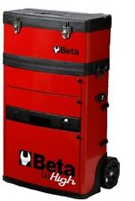 Beta C41H Two Module Mobile Tool Trolley Red Cabinet Tool Box Case - From UK