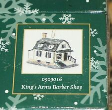 Lang & Wise Colonial Williamsburg King's Arms Barber Shop Ornament (Rare) Sealed