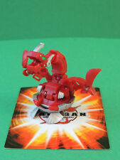 Bakugan Iron Dragonoid red Pyrus 900G Mechtanium Surge S4