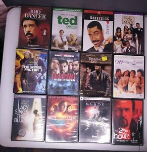Lot of 12 Comedy Drama Action DVDS Ted Training Day Carlitos Way + More