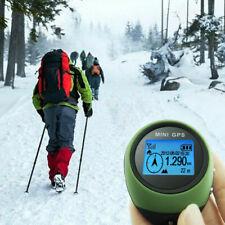 Mini GPS Tracker Tracking Handheld Location Finder Key Chain Holder Pathfinding