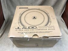 "JL AUDIO 10TW1 10"" THIN-LINE SUBWOOFER DRIVER 300W Free Shipping!!"