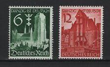 1939 Deutsches Reich Mi 714-715 * ungebraucht mit Falz