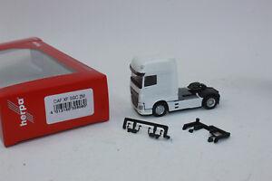 Herpa 309080 DAF XF Ssc Zugmaschine Facelift, Blanc 1:87 H0 Neuf Dans Emballage