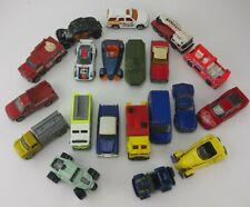 Lot of 20 MatchBox Diecast Cars 1970's - Now Trucks Jeep Cars Fire Trucks