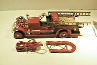 vtg Ahrens Fox Fire Engine Truck Telephone tested unique collectible euc retro